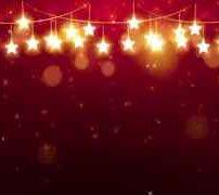 ویدیو فوتیج پس زمینه قرمز کریسمس