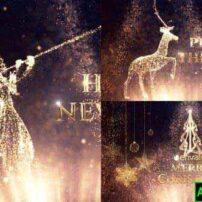 پروژه آماده افترافکت تبریک کریسمس
