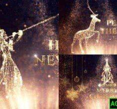 پروژه-آماده-افترافکت-تبریک-کریسمس