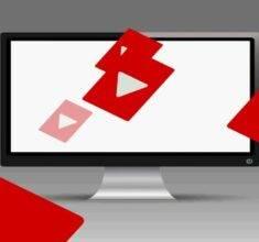 ویدو فوتیج آیکون های سایت یوتیوب