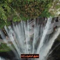 ویدیو فوتیج آبشار رودخانه در طبیعت
