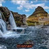 ویدیو فوتیج آبشار رودخانه