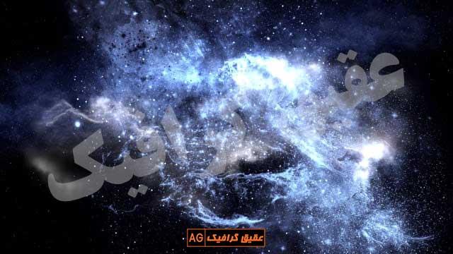 ویدیو فوتیج حرکت میان سیارات در فضا