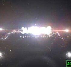 پروژه-آماده-افترافکت-لوگو-موشن-Lights
