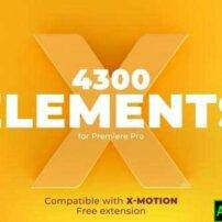 پروژه آماده پریمیر X-Elements