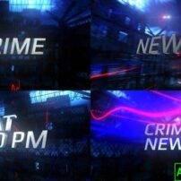 پروژه آماده افترافکت اخبار جنایی