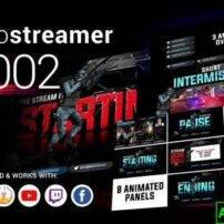 پروژه آماده افترافکت استریم رمزنگاری Crypto Streamer #0002