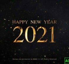 پروژه-آماده-افترافکت-شمارش-معکوس-سال-جدید-۲۰۲۱