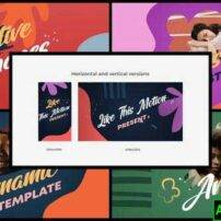 پروژه آماده افترافکت نمایش اسلایدی Design Slideshow