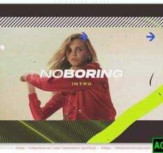 پروژه-آماده-افترافکت-No-Boring-Intro