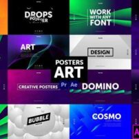 پروژه-آماده-پریمیر-پوسترهای-هنری-Posters-Art