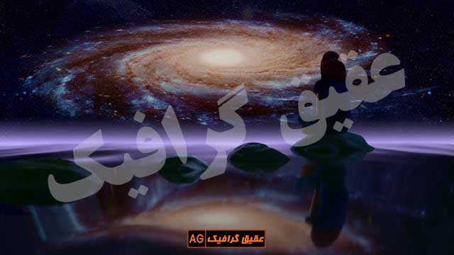 ویدیو-فوتیج-چرخش-کهکشان