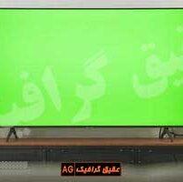 ویدیو فوتیج کروماکی صفحه نمایش تلویزیون