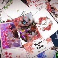 پروژه آماده افترافکت اسلایدشوی دعوت نامه عروسی