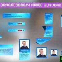 پروژه آماده افترافکت المان های زیرنویس ویدیو