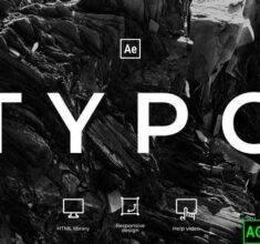 پروژه-آماده-افترافکت-تایپوگرافی-Typography