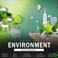 پروژه آماده افترافکت روز محیط زیست