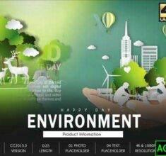 پروژه-آماده-افترافکت-روز-محیط-زیست