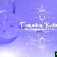 پروژه آماده افترافکت لوگو موشن ماه مبارک رمضان