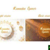 پروژه آماده افترافکت ماه رمضان Ramadan Opener