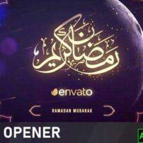 پروژه آماده افترافکت ماه مبارک رمضان Lunar Ramadan Month