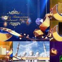 پروژه آماده افترافکت پک پخش کننده ماه مبارک رمضان