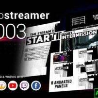 پروژه آماده افترافکت CryptoStreamer #0003
