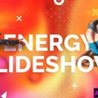 پروژه آماده پریمیر نمایش اسلایدشوی انرژی