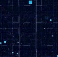 ویدیو فوتیج الگوی شبکه ای فناوری