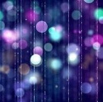 ویدیو فوتیج بوکه های رنگارنگ زرق و برق دار