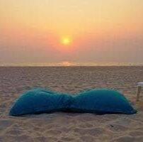 ویدیو فوتیج فضای عاشقانه در کنار ساحل