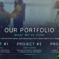 پروژه آماده افترافکت تبلیغات تجاری رنگارنگ