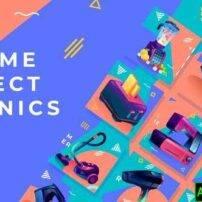 پروژه آماده افترافکت تبلیغات محصولات الکترونیکی خانگی