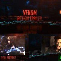پروژه آماده افترافکت تریلر اکشن Venom