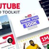 پروژه آماده افترافکت جعبه ابزار تبلیغاتی یوتیوب