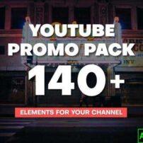 پروژه آماده افترافکت پک تبلیغاتی یوتیوب