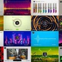 پروژه آماده افترافکت 50 طیف صوتی موزیک اکولایزر