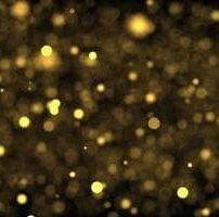ویدیو فوتیج حرکت بوکه های طلایی