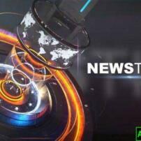 پروژه آماده افترافکت افتتاحیه پخش زمان اخبار