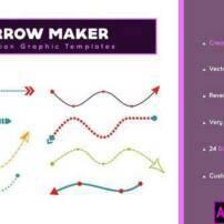 پروژه آماده پریمیر پیکان ساز Arrow Maker