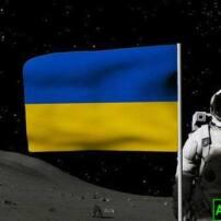 پروژه آماده افترافکت نمایش لوگو روی پرچم در کره ماه