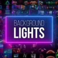 پروژه آماده افترافکت پس زمینه های نورانی Background Lights