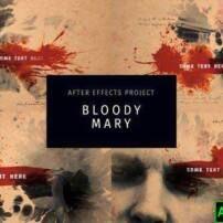 پروژه آماده افترافکت Bloody Mary