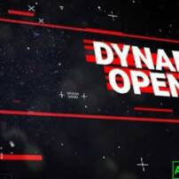 پروژه آماده افترافکت اوپنر داینامیک Dynamic Opener