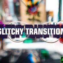 پروژه آماده افترافکت اینترو گلیچ Glitch Intro