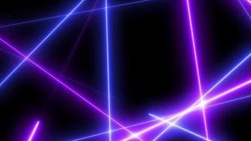 ویدیو فوتیج خط زیگزاگ با لیزر