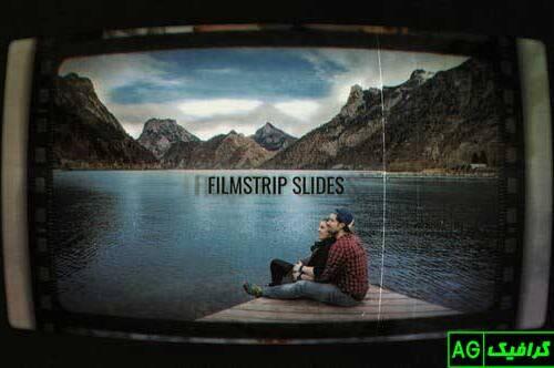 پروژه آماده افترافکت اسلایدهای فیلم نوار