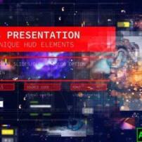 پروژه آماده افترافکت رابط کاربری معرفی وب