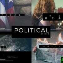 پروژه آماده افترافکت اوپنر سیاسی Political Opener