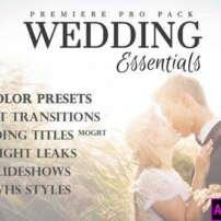 پروژه آماده پریمیر پک ابزارهای ویدیوی عروسی